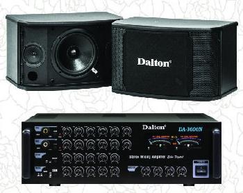 Bộ dàn âm thanh Dalton 01: LX 550 & DA 3600N