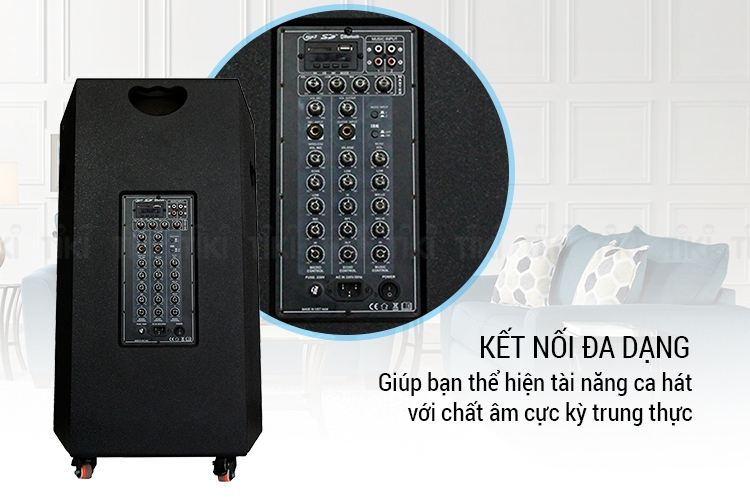 Loa Kéo Điện Bluetooth K-118