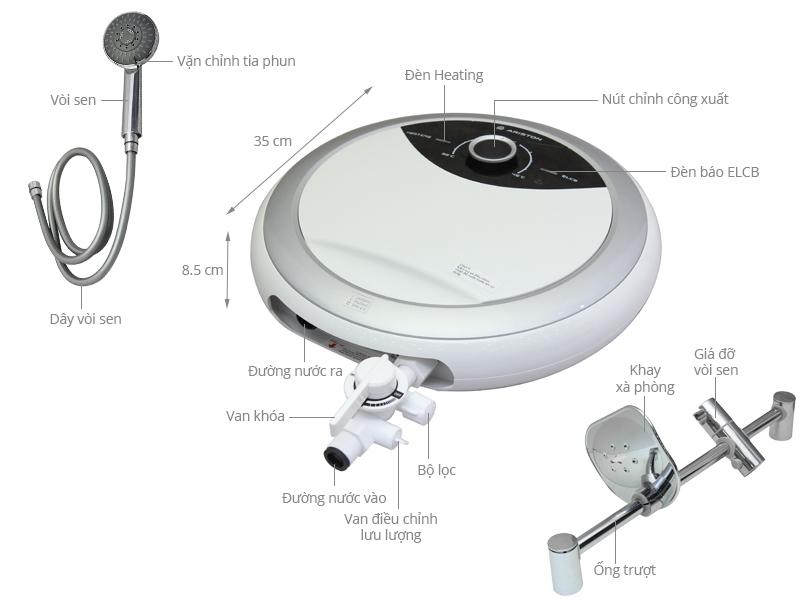 Máy nước nóng Ariston RMC45E