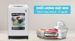 Máy giặt Hitachi 8kg SF-80XA 220-VT (WH)