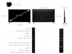 Smart Tivi TCL 4K 65 Inch L65P65