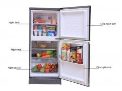 Tủ lạnh Panasonic 135 lít NR-BJ158SSVN